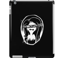 Glob save the vampire Queen iPad Case/Skin