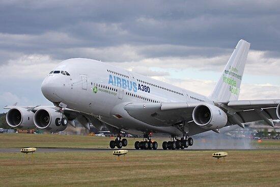 A380 Airbus by mooneyes
