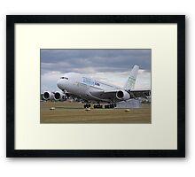 A380 Airbus Framed Print