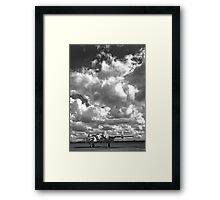 B25 Mitchell WW2 Bomber. Framed Print