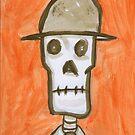 skeleton man by Jarrad .