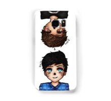 Anime Dan and Phil Samsung Galaxy Case/Skin