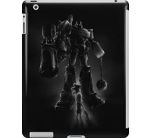 Megatron and Girl iPad Case/Skin