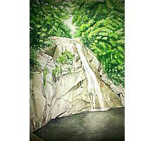 Maribina Falls formerly known as Marinawa Photographic Print