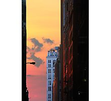 NEW YORK SUNSET Photographic Print