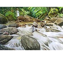 Sibanjan Falls Photographic Print