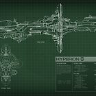 EVE Online Hyperion Schematic by Titch-IX