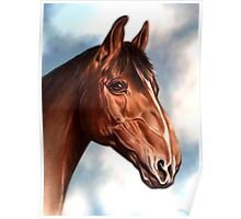 Horse Waiting Poster