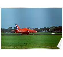 Red Arrows, Leeuwarden 2011 Poster