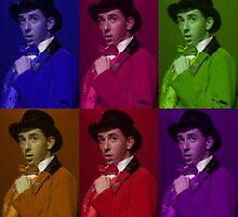 Brian Rosenthal 6 Colour Collage  by holethina