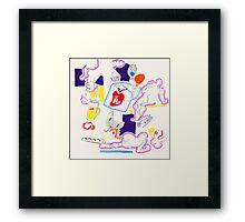 Night Drawings - Les Dessins de Nuit n°41  -  Heart(h) Framed Print