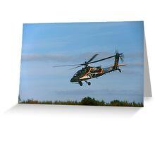 Boeing AH-64 Apache, Leeuwarden 2011 Greeting Card