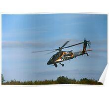 Boeing AH-64 Apache, Leeuwarden 2011 Poster