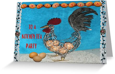 Chooka - Kitchen Tea Invitation by judygal