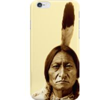 Sitting Bull, Chief, Battle, Little Bighorn, Hunkpapa, Lakota, Holy man, iPhone Case/Skin