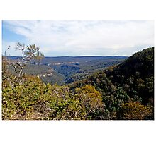 Moreton National Park from Echo Point. Photographic Print