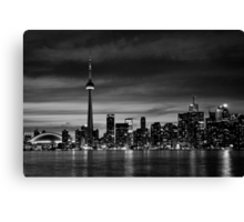 TO in B&W Canvas Print