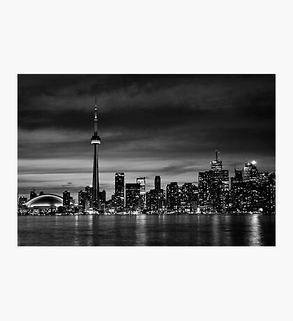 TO in B&W Photographic Print
