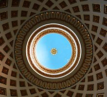 Mosta Dome from Inside, Mosta, Malta by Igor Pozdnyakov
