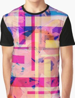 Watercolor and stripes Graphic T-Shirt