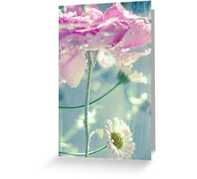Flower soup 1 Greeting Card
