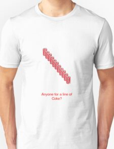 A Line Of Coke Unisex T-Shirt