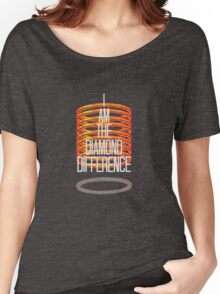 The Diamond Difference Women's Relaxed Fit T-Shirt