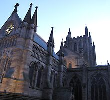 Hereford Cathedral Close-up by TedT