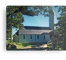 Kilmore Church Exterior, Dervaig Metal Print