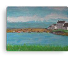 Portmahomack Harbour Canvas Print
