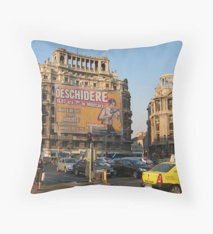 Digital Breadcrumbs Throw Pillow