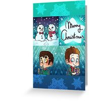 Christmas Klaine IV. Greeting Card