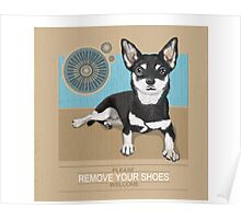 Remove Your Shoes... Poster