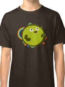 Happy Green Planet Classic T-Shirt