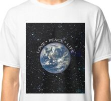 LOVE * PEACE * LIFE Classic T-Shirt
