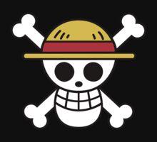 One Piece - Straw Hat Pirates Flag by MaleficMatt