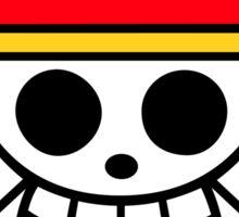 Straw Hat Pirates Flag Sticker