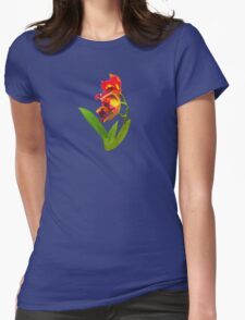 Frilly Red and Yellow Orchids T-Shirt