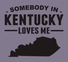 Somebody In Kentucky Loves Me Kids Clothes