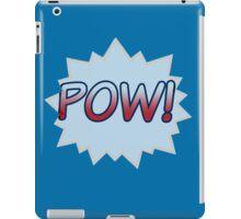 BLUE POW iPad Case/Skin