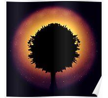 Tree sky Poster