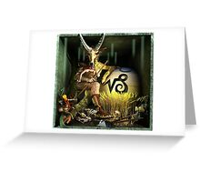 Ecce Homo 125 - THE ZODIAC - 1. Capricorn Greeting Card