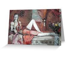 Aphrodite - our muse  Greeting Card