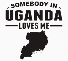 Somebody In Uganda Loves Me Kids Tee