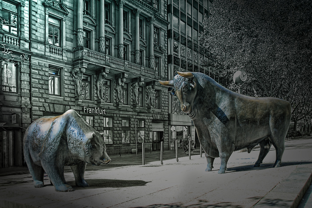 bear & bull Frankfurt by Jo-PinX