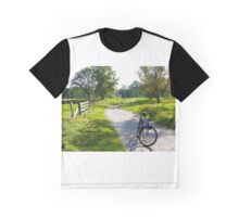 On the way to Vidöstern Graphic T-Shirt