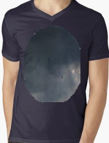 Ominous Mens V-Neck T-Shirt