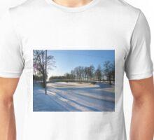 Shadows in blue Unisex T-Shirt