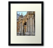 Waddesdon Manor Entrance Framed Print