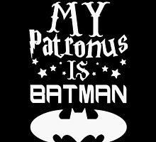 My Patronus Is Batman by NatalishPath